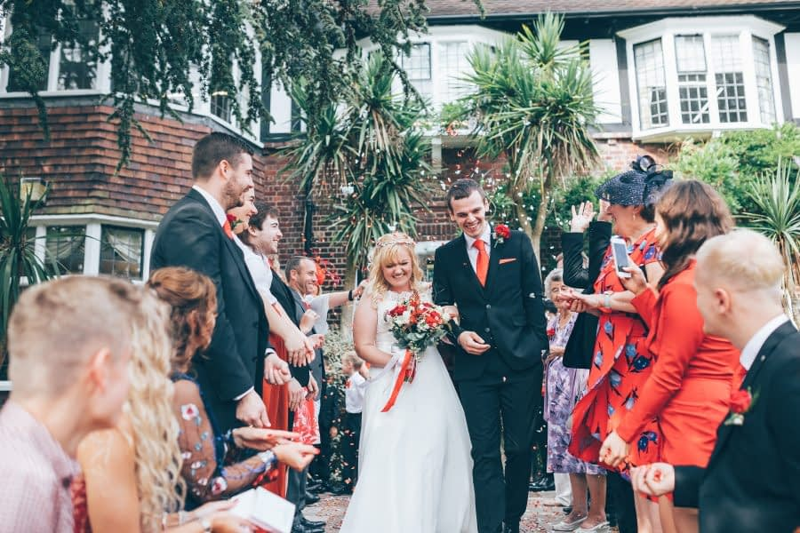 surrey female wedding photographer Runnymeade Wedding Photography 2019 - River Thames Weybridge Registry Office Dog Friendly