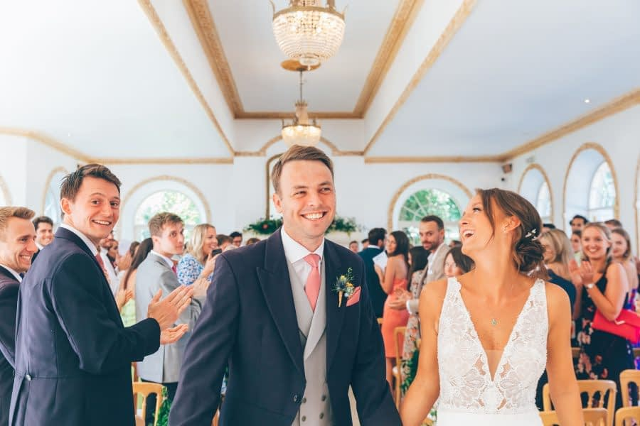 Northbrook Park, Surrey Wedding, Couple, Ceremony