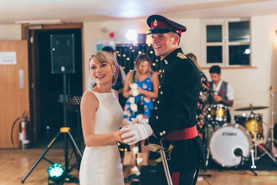 first dance, wedding group photo, bury court barn wedding photographer, female wedding photographer richmond, surrey wedding photographer