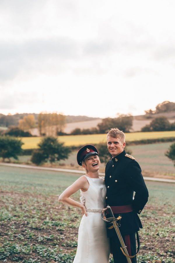 sunset, wedding group photo, bury court barn wedding photographer, female wedding photographer richmond, surrey wedding photographer