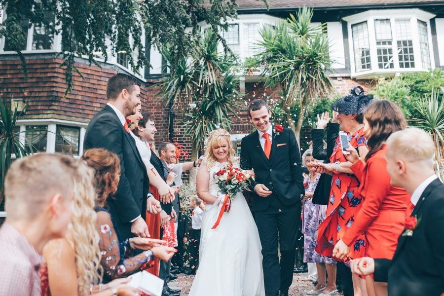 surrey female wedding photographer Runnymeade Wedding Photography 2019 - River Thames Weybridge Registry Office Dog Friendly