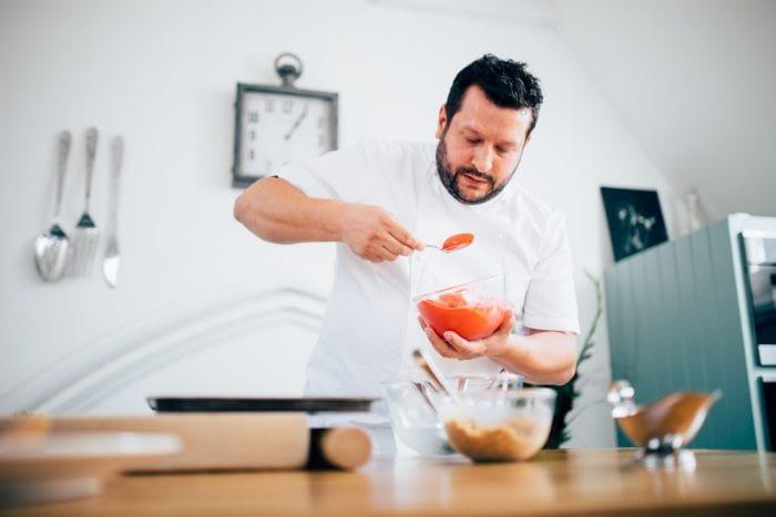 The Michel Roux JR Cookery School- London Portrait Photographer