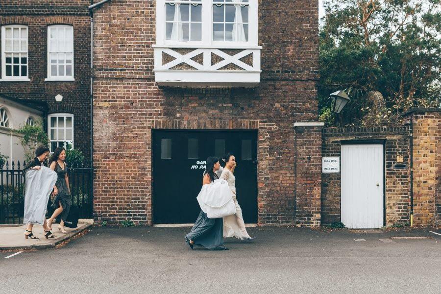 Kew Gardens Wedding Photographer, Kew Green, Cambridge Cottages