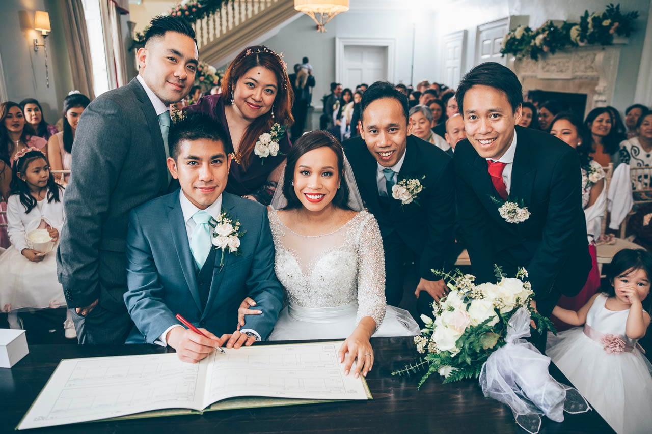 Wedding Photographer Morden Hall